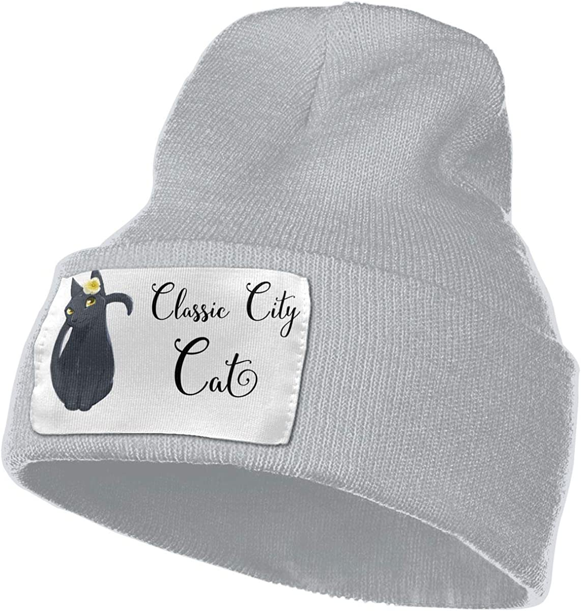 Classic City Cat Unisex Fashion Knitted Hat Luxury Hip-Hop Cap