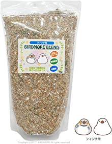BIRDMOREオリジナル(手洗いボレー粉入)鳥 皮付き 餌 文鳥&フィンチ用 1kg