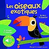 Les oiseaux exotiques: 6 images à regarder, 6 sons à écouter