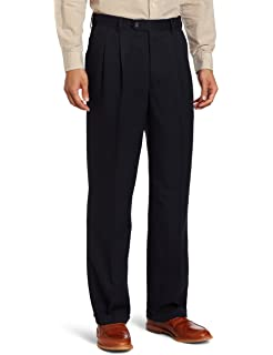 Enro Big and Tall Micro Pleated Dress Pant