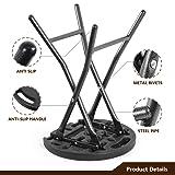 TAVR Portable Folding Stool 18.1 inch Set of 2