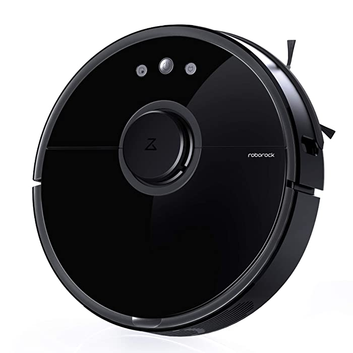 Roborock S5 Robot Vacuum and Mop, Smart Navigating Robotic Vacuum Cleaner with 2000Pa Strong Suction &Wi-Fi connectivity for Pet Hair, Carpet & All Types of Floor