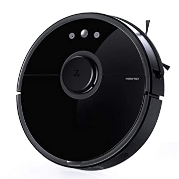 Roborock S5 Robot Vacuum and Mop, Smart Navigating Robotic Vacuum Cleaner with 2000Pa Strong Suction, Wi-Fi & Alexa Connectivity for Pet Hair, Carpet ...