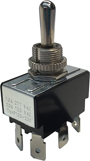 Gardner Bender GSW-120 Heavy Duty Toggle Switch