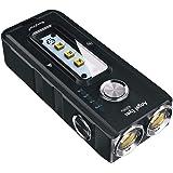 RovyVon E200U Keychain Flashlight Rechargeable, 1650 Lumens, 270nm UVC/UVA, Cree XP-G3, Type-C EDC Small LED Flashlight