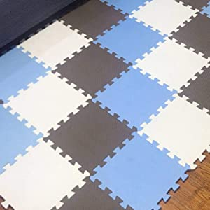 Play Mat,Foam Children s Rug,Interlocking Exercise Crawl Tiles,Floor Puzzle Carpet for Kids,Each 32x32cm