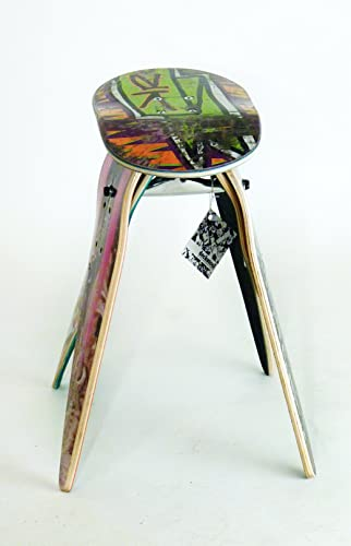 Deckstool Recycled Skateboard Stool