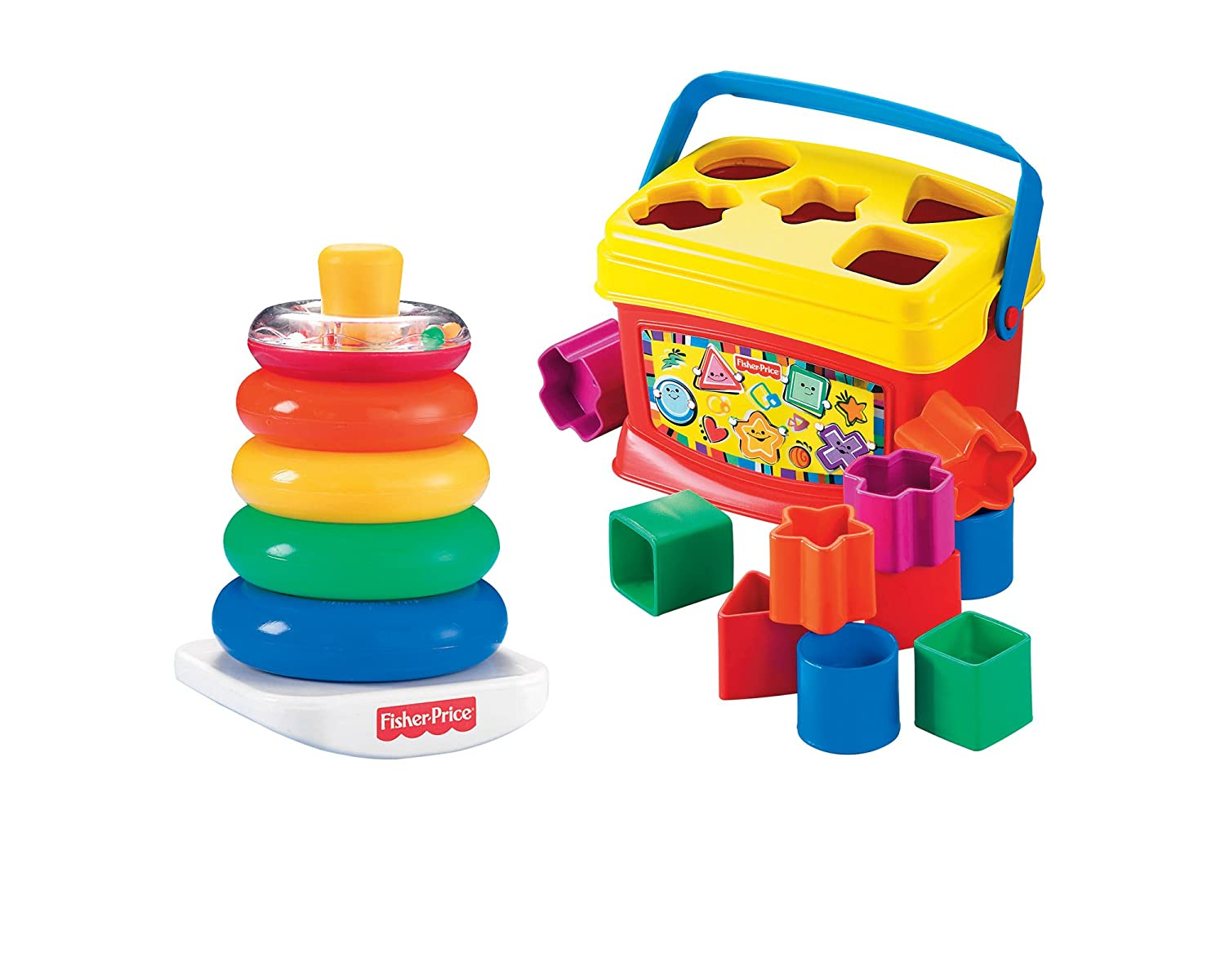 Fisher-Price First Blocks and Rock Stack