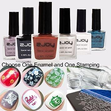 frenshion irgendein 10ml spezieller nagel bunter stempelnder email fr nagel kunst nagel schnheits entwurfs - Muster Fur Nagel