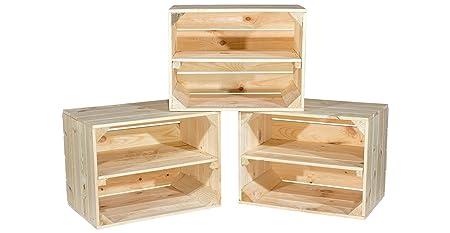 Massive estante Cajas/Juego De 3 estantes/zapatero Cajas Johanna ...