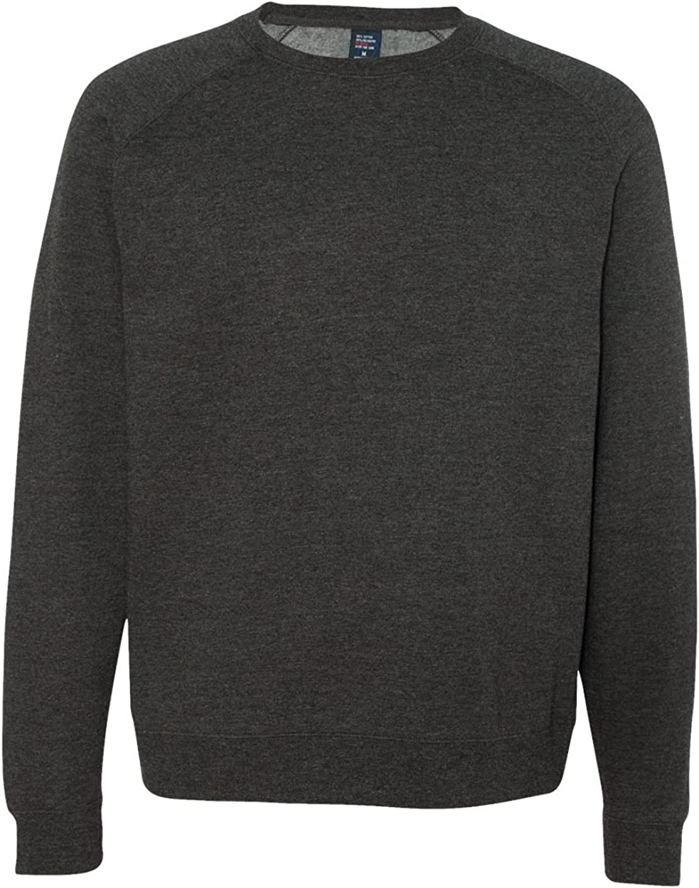 Fitted Raglan Crewneck Sweatshirt IND30RC Independent Trading Co