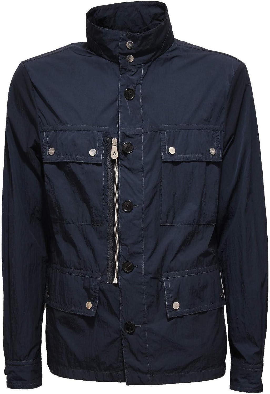 Peuterey 2195X Giubbotto uomo Light Windstopper Blue Jacket Men [L]