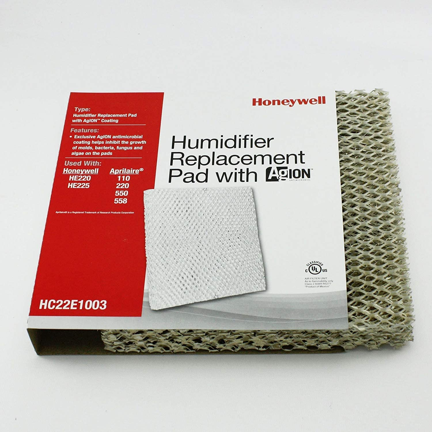 How to change a humidifier pad on an Aprilaire 550 humidifier.