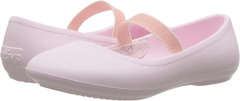 Milk Pink 12 Medium US Little Kid Native Kids Girls Margot Ballet Flat