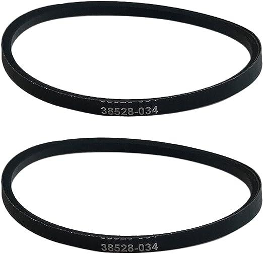 5 Sets 10 Genuine Hoover Self-Propelled Windtunnel Belts 38528-034 38528-035