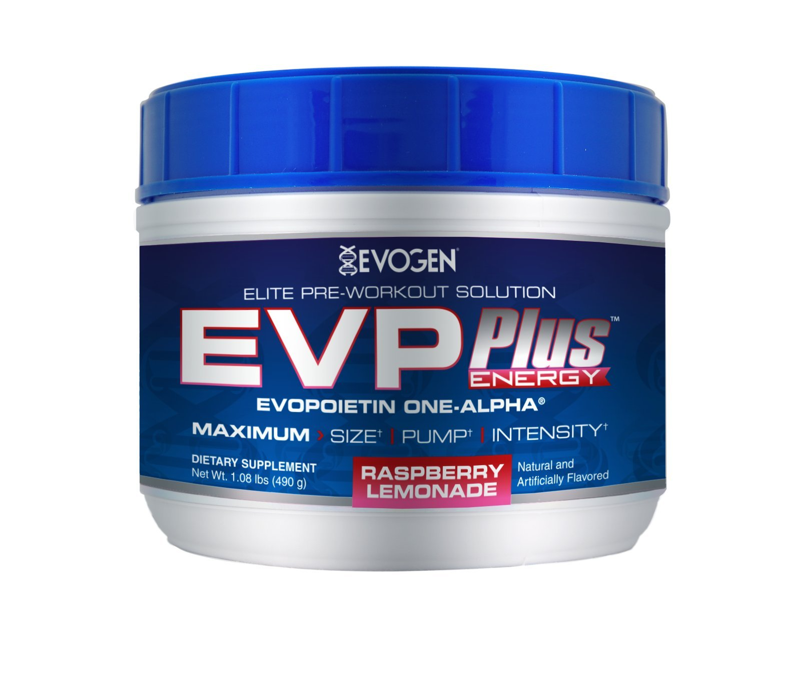 Evogen EVP Plus Raspberry Lemonade -  Net Wt. 1.08 lbs (490 g)