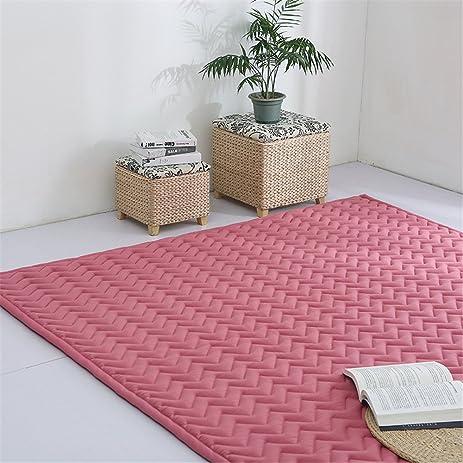 Amazon.com: VClife Modern Nonslip Brick Red Floor Runner for Girls ...