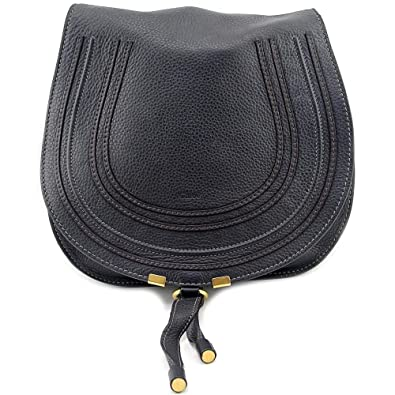 6a786c45 Chloe Marcie Black Leather Crossbody 3S0905-161-1: Handbags: Amazon.com