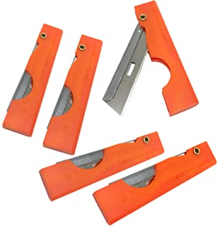 product image for Derma-safe Folding Utility Survival Knife (5-pack) Orange