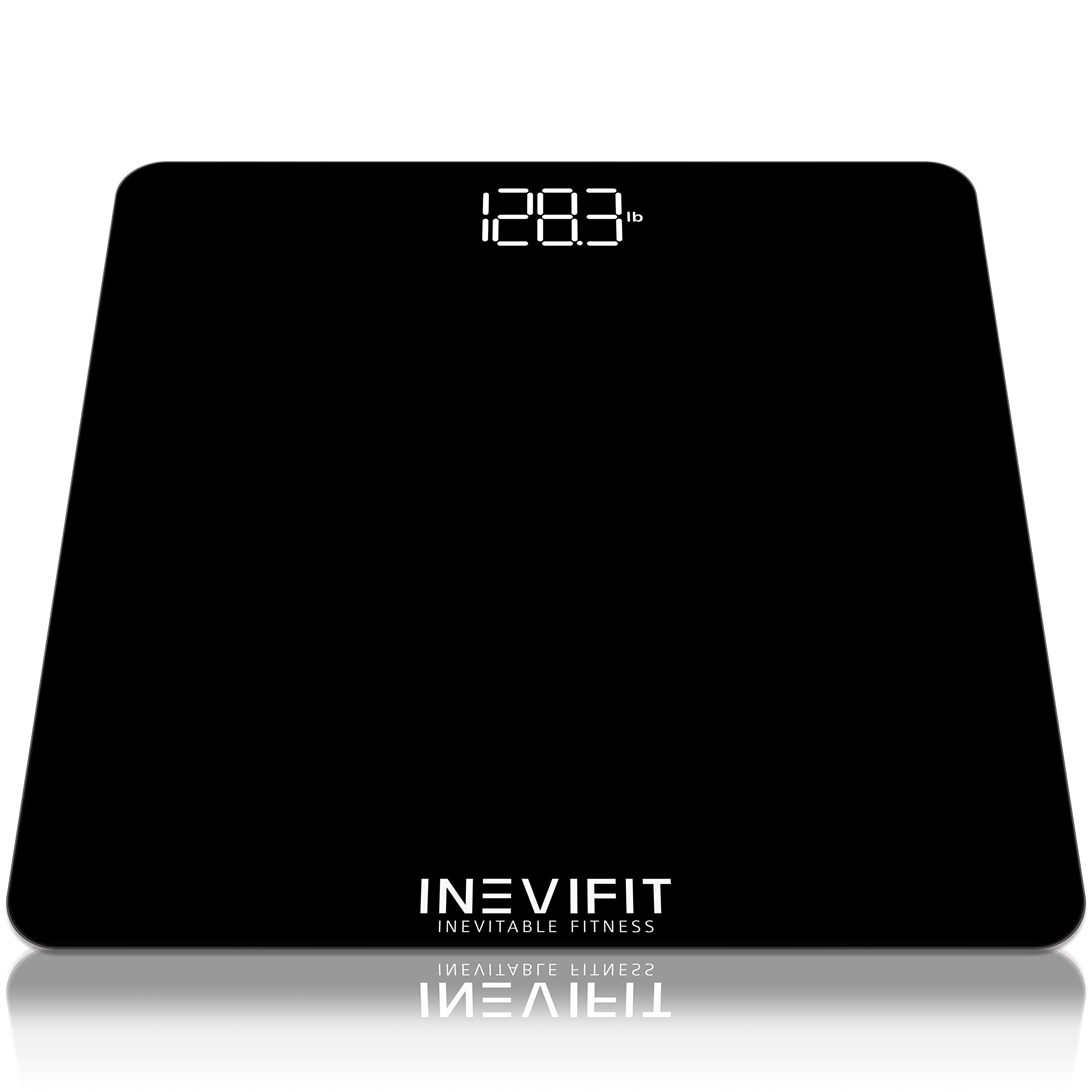INEVIFIT Bathroom Scale, Digital Bathroom Body Scale, Measures Weight for Multiple Users.