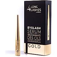 Long4Lashes Gold 4 ml - nieuw exclusief wimperserum, hoge capaciteit - serum van superlatieven - verhoogt de wimpergroei…