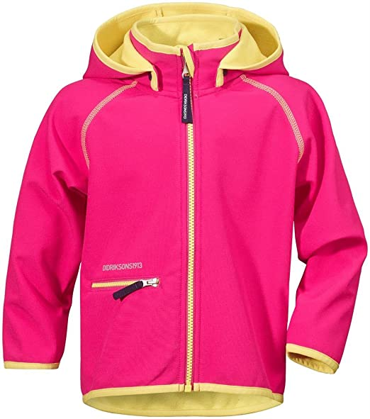 30de4e1f Didriksons Freneka Kids Softshell Jacket: Amazon.co.uk: Clothing