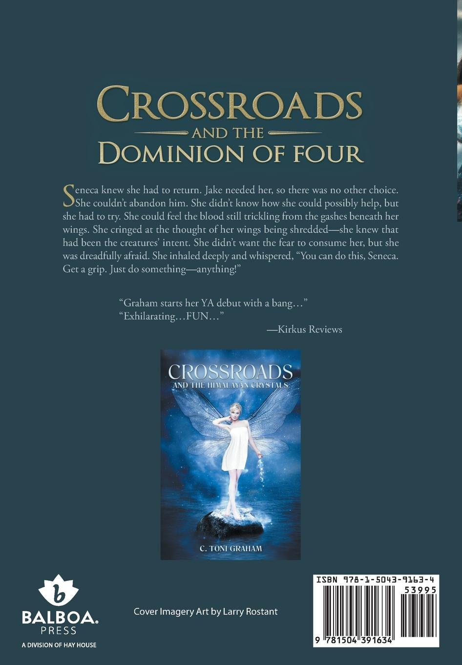 Crossroads And The Dominion Of Four By C Toni Graham