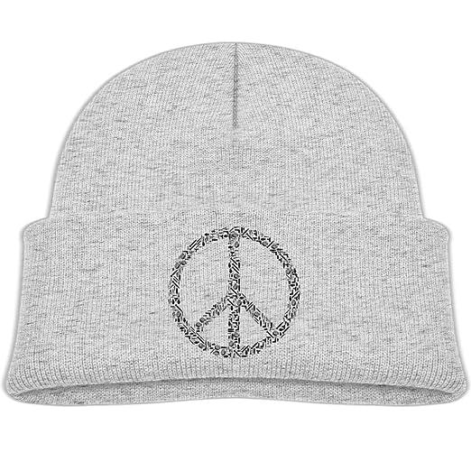 d50bbec0a3c82 Amazon.com  Knit Hat World Peace Earth Baby Beanie Caps Unisex Baby ...