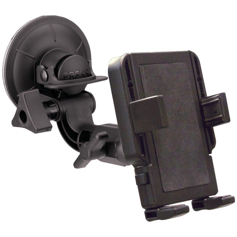 PanaVise PortaGrip Phone Holder with Premium Windshield Mount by PanaVise