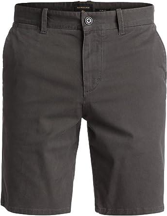 TALLA 28. Quiksilver Krandy St - Pantalones Cortos Hombre
