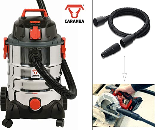 Caramba húmedo aspirador vtool 9.0 – Potente multiusos en seco con función de extracción para herramientas eléctricas: Amazon.es: Hogar
