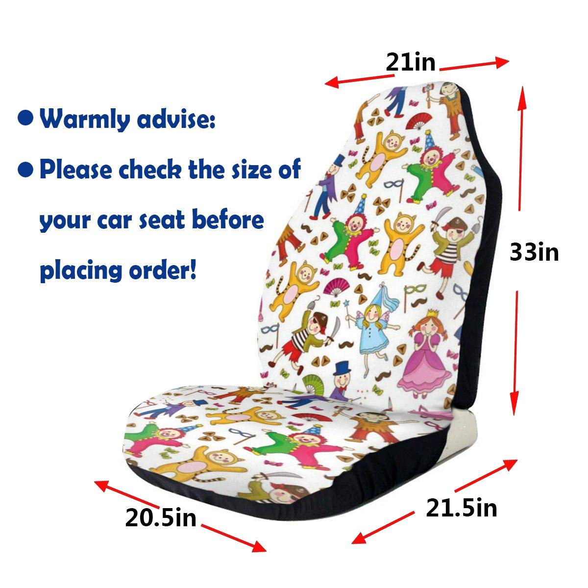 Peachy Amazon Com Gultmee Car Front Seat Covers Vehicle Protector Dailytribune Chair Design For Home Dailytribuneorg