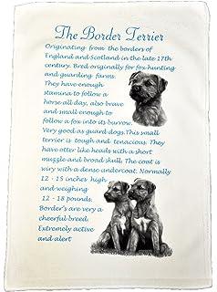 Waggy Dogz  100/% Cotton Handmade in UK Black Labrador Dog Tea Towel