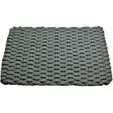 rockport rope doormats indoor and outdoor doormats 24 by 38inch gray