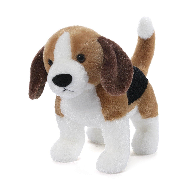 amazoncom gund bagel beagle dog stuffed animal plush toys  games -