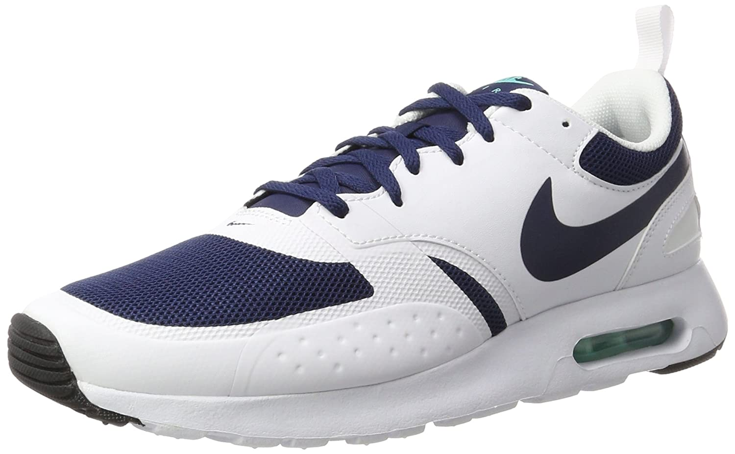 Bleu (Midnight Navy Midnight Navy-blanc-hyper) 44.5 EU Nike Air Max Vision, paniers Basses Homme