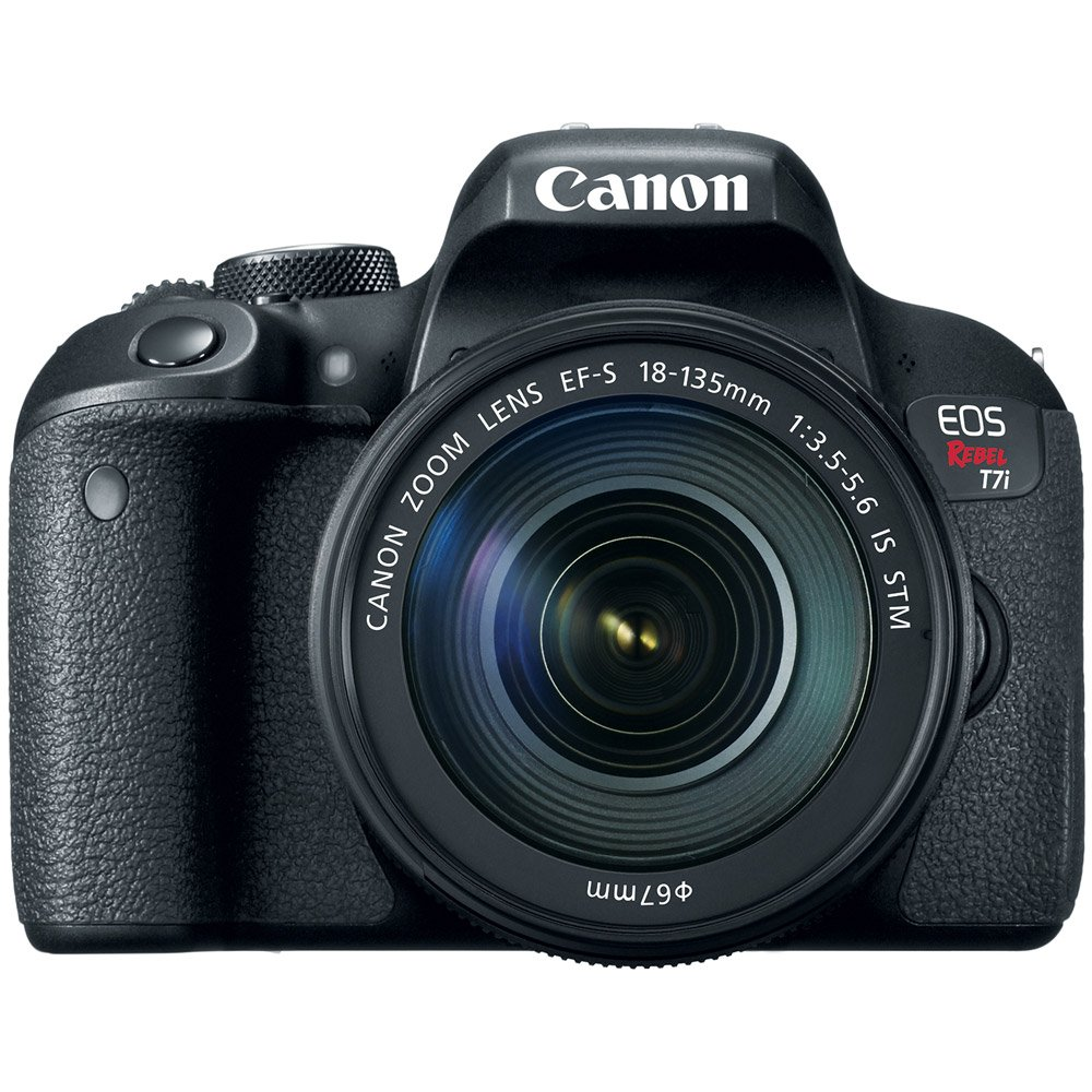 Canon EOS Rebel T7i Digital SLR Camera with EF-S 18-135mm IS STM ...