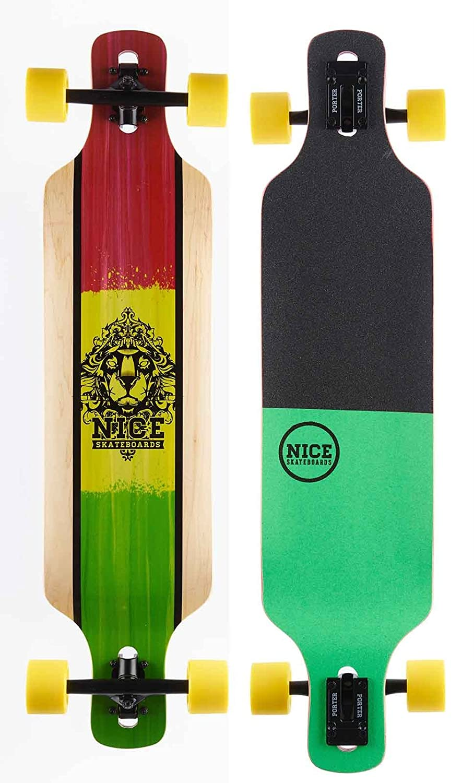 NICE Longboards Blaunt 38.25  x 9  Hardgoods Street, Multicolour, 9.5 x 39 Zoll B01BVJ2NIU Longboards Ausgezeichneter Wert