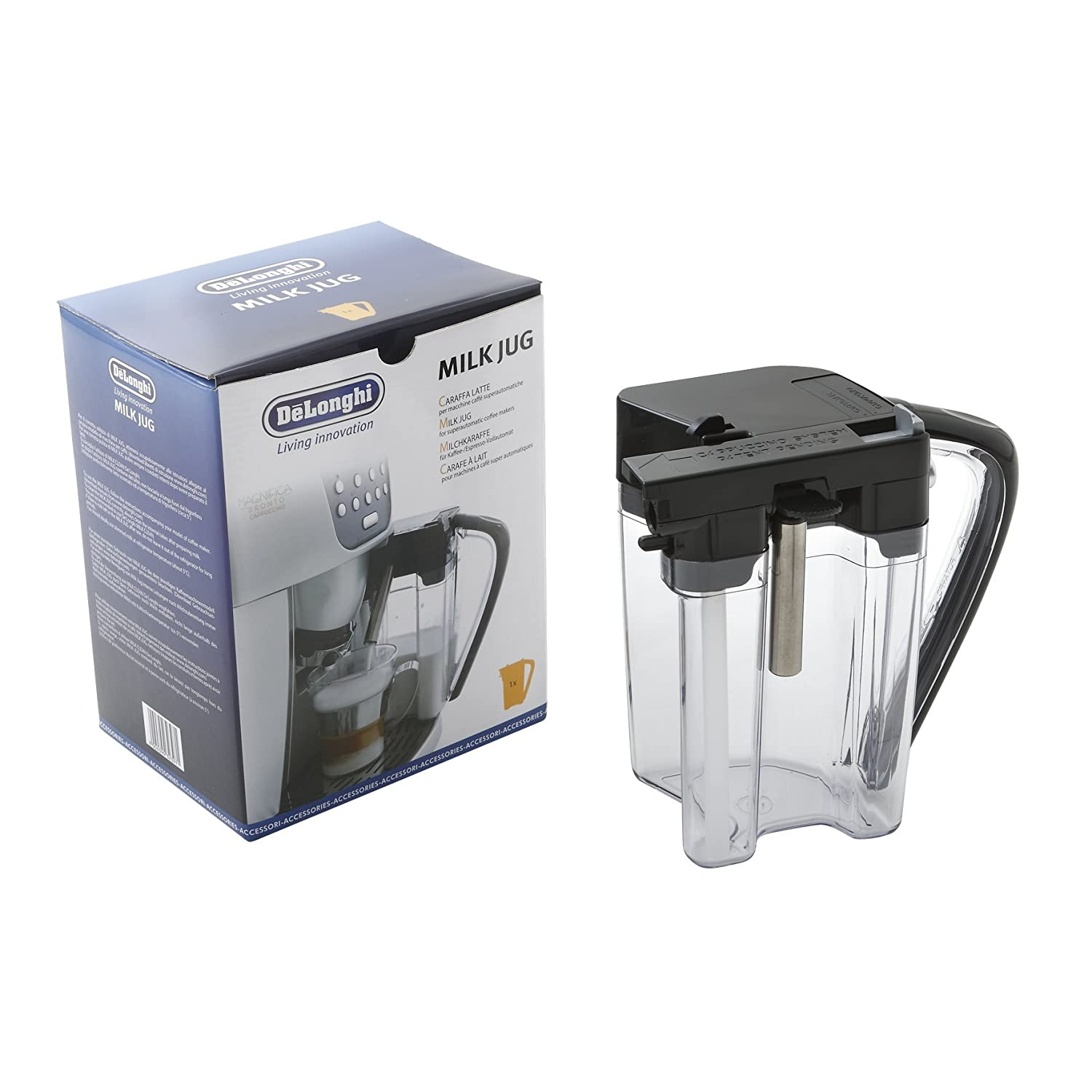 De'Longhi Coffee Maker Milk Jug for Perfecta Range Maddocks 55-DL-09