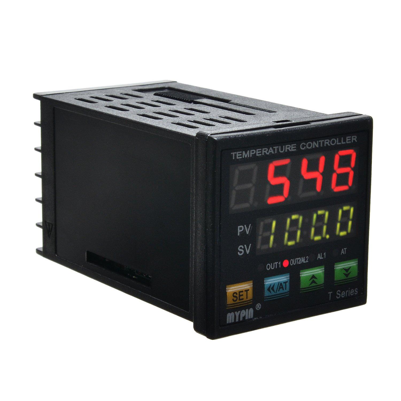 MYPIN® TA4-SNR+K Thermocouple SNR PID Dual Digital Display Temperature  Controller Dual Type-K Thermocouple: Amazon.com: Industrial & Scientific