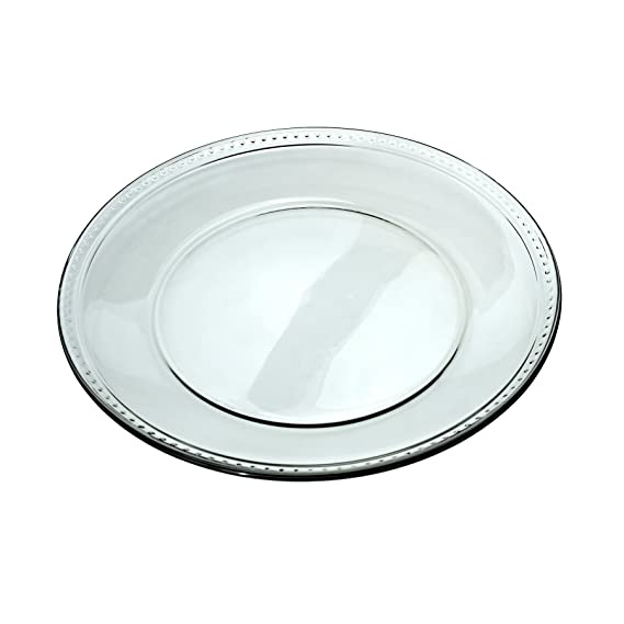 Anchor Hocking 10\u0026quot; Glass Isabella Dinner Plate ...  sc 1 st  Amazon.com & Amazon.com: Anchor Hocking 10\