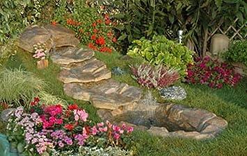 Étang de Jardin cascade Rio Vert cm270 x 120 complète de pompe ...