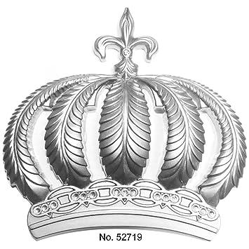 Harald Glööckler Tapeten Krone Wand Deko 52719 Silber Amazonde