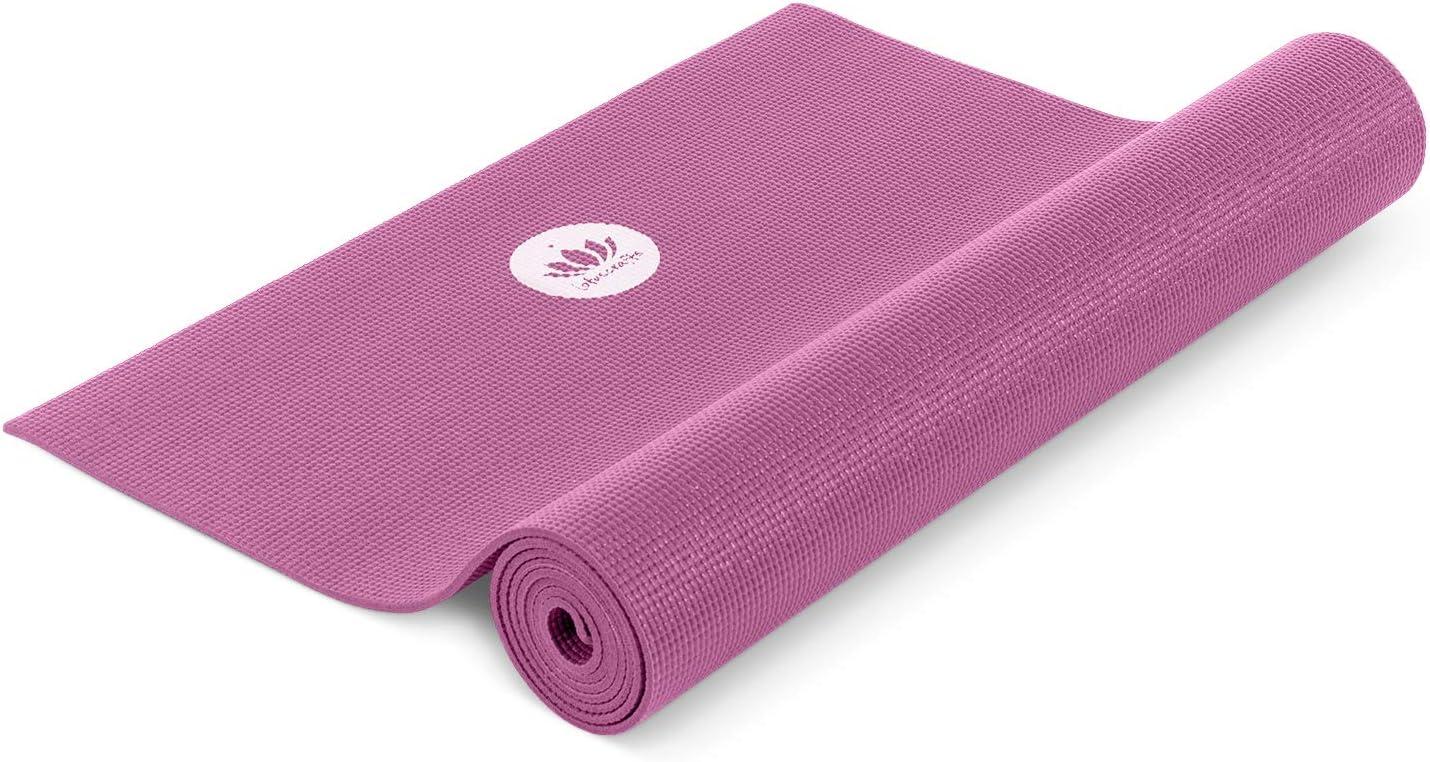 174 cm x 62 cm Bleu 5 mm Tapis De Yoga Exercice//Gym//camping Violet!
