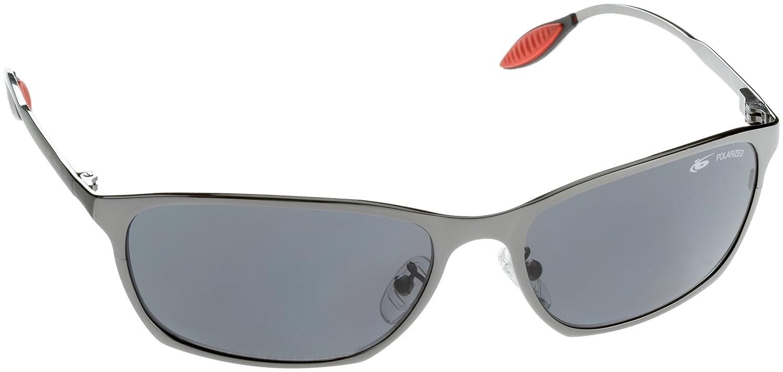 Amazon.com: Bolle Hampton Shiny Gun Polarized TNS Sunglasses ...