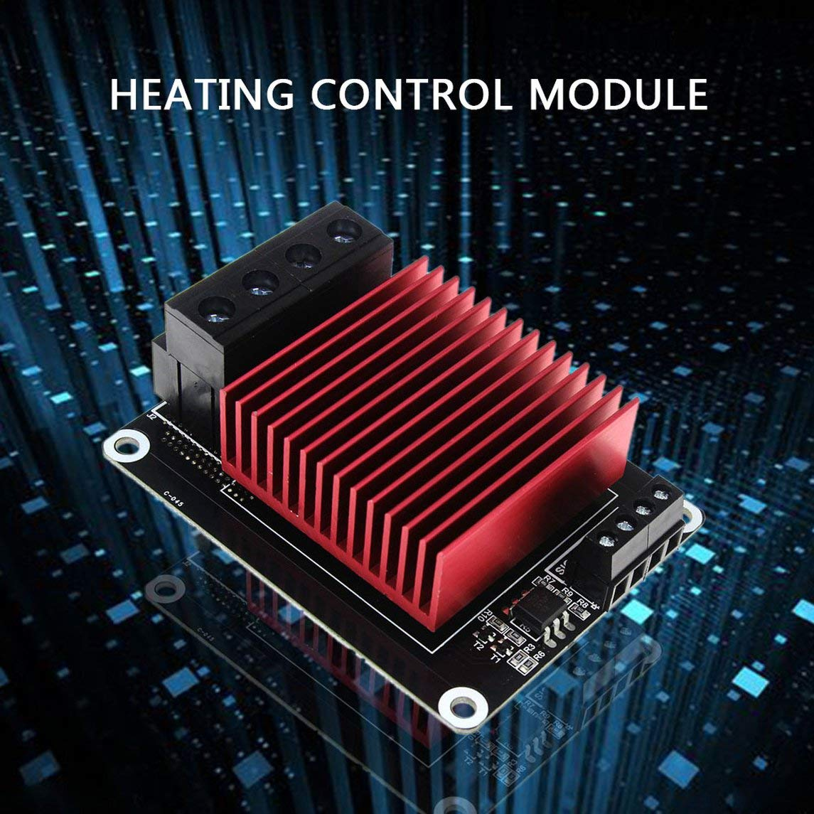 YXTFN 3D Printer Accessories Hot Bed/Print Head Heating Control Mks Mos Module by Magicalworld (Image #4)