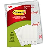 Command Large Picture Hanging Strips for Picture Frames, 14 Pairs, White - PH206-14NA