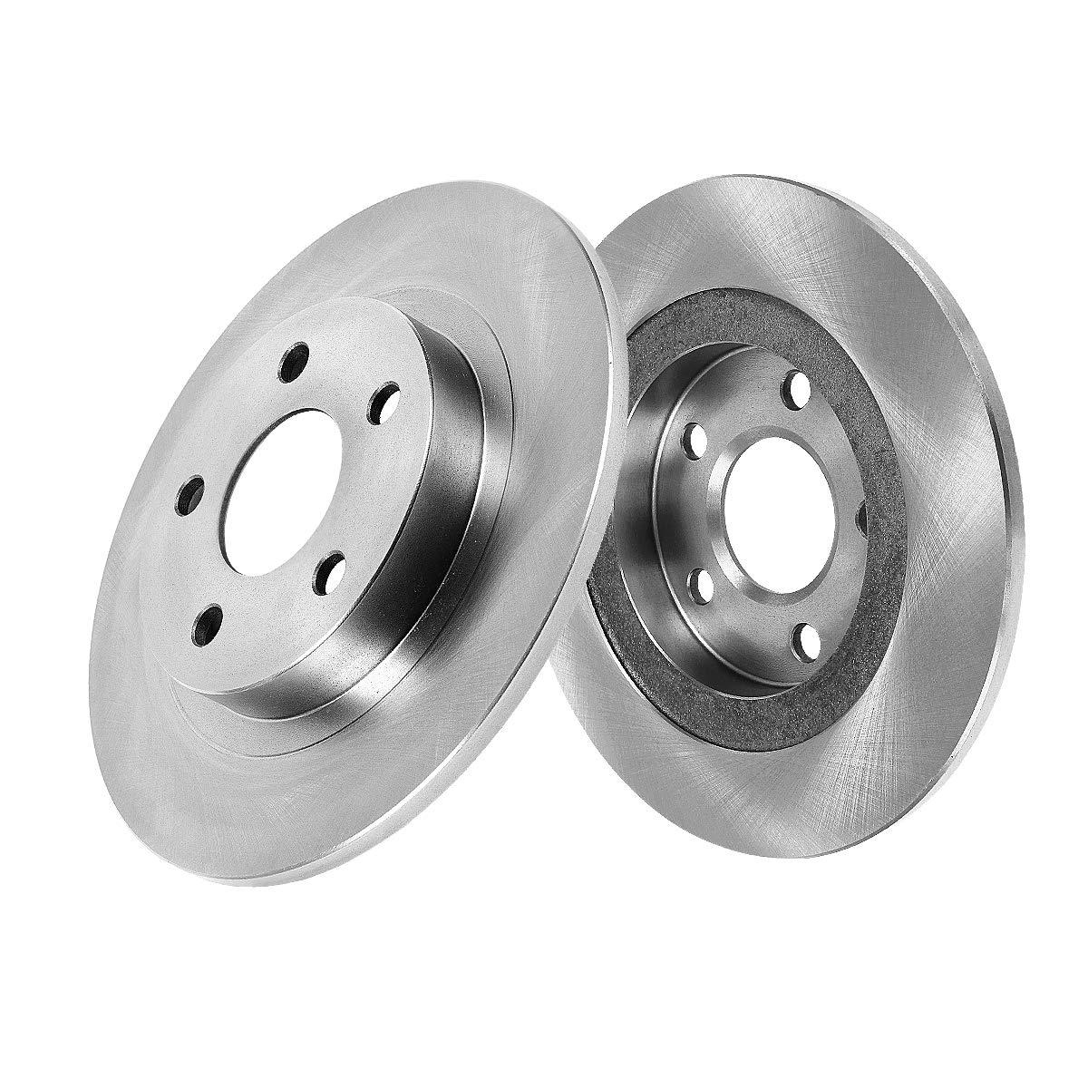 REAR Premium Grade OE 269 mm [2] Rotors Set CBO200418 [ Lexus ES300 Toyota Camry Solara ] Callahan Brake Parts