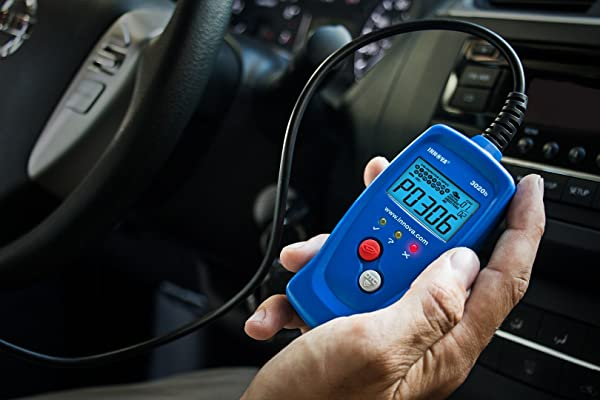 Innova 3020 is a Code Reader that reads and erases all trouble codes that usually make the Check Engine Light to come on