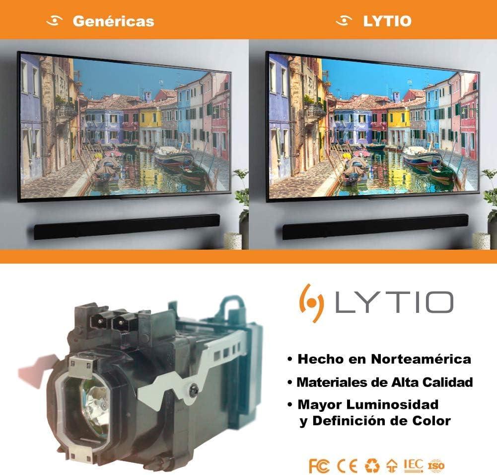 Lytio Premium for Mitsubishi 915B441001 TV Lamp with Housing 915B441A01 Original Philips Bulb Inside